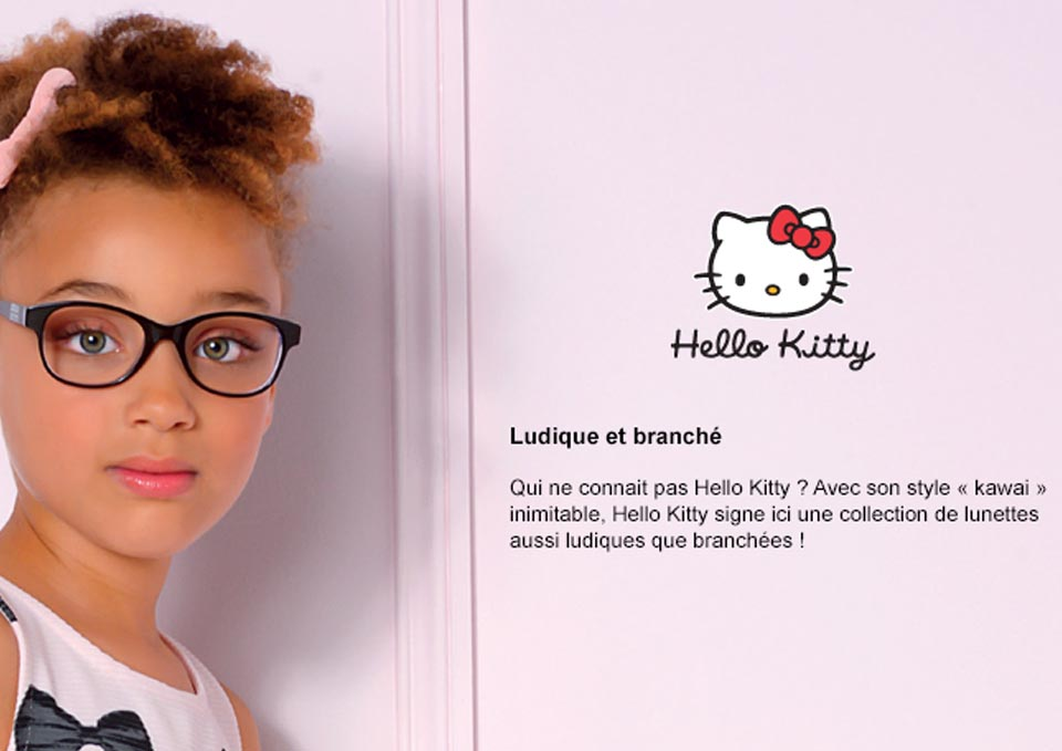 hello-kitty collection lunettes enfant